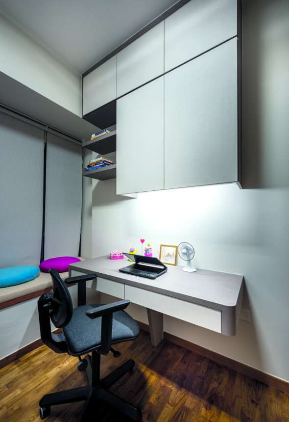 Nice Study Room By Project File Source · Singapore Property Resources And Guides  HDB Districts And