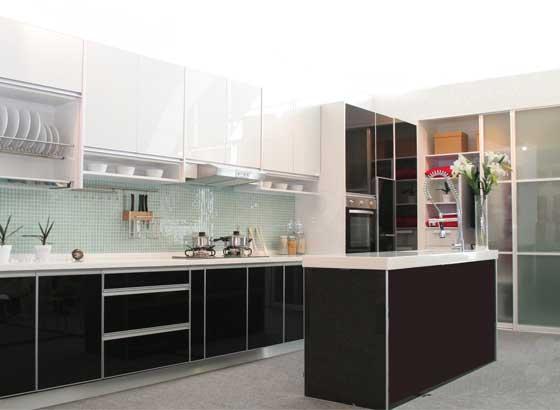 L-shaped Kitchen Cabinet Design